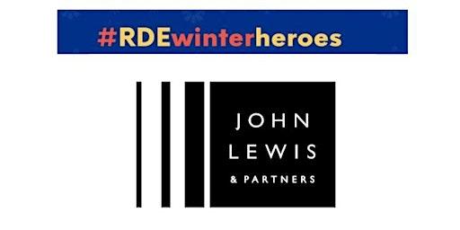 John Lewis Exeter's RD&E Winter Heroes Night.