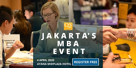 QS Jakarta's MBA Fair & Networking Event: Free Entry tickets