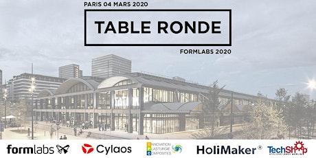 Table ronde - Fabrication additive et injection plastique billets