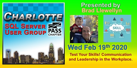 Charlotte SQL Server User Group - Wed Febuary 19th - Meeting Invitation and RSVP tickets