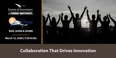 Rise, Shine and Share Portage with The Society of Innovators at PNW tickets
