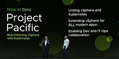 LUNCH AND LEARN VSPHERE/PROJECT PACIFIC UPDATE tickets