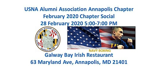 USNA Alumni Association Annapoils Chapter Monthly Social - 28 FEB 2020