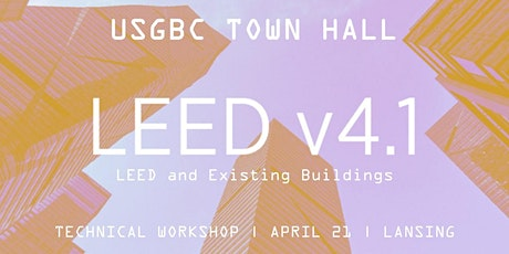 USGBC Town Hall Technical Workshop - Lansing tickets