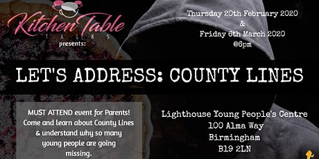 Let's Address: County Lines tickets