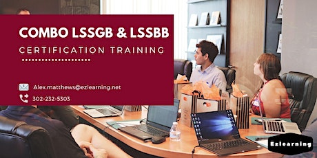 Combo Lean Six Sigma Green & Black Belt Training in Barkerville, BC tickets