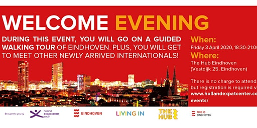 Welcome Evening for Internationals in Eindhoven: April 2020