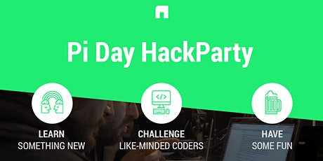 Pi Day HackParty tickets