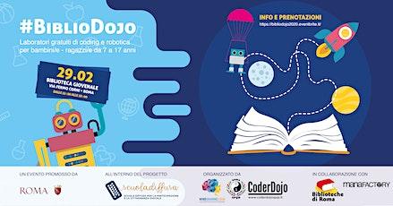#BiblioDojo 2020 - @Scuola Diffusa by CoderDojo Roma SPQR biglietti