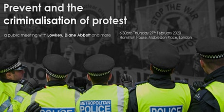 Prevent and the criminalisation of protest tickets