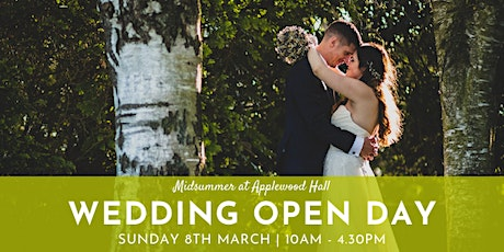 Midsummer at Applewood Hall - Wedding Open Day tickets