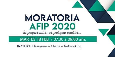 Moratoria Afip 2020 - Si pagás más ,es por que querés entradas