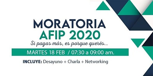 Moratoria Afip 2020 - Si pagás más ,es por que querés