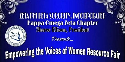 Empowering the Voices of Women Resource Fair