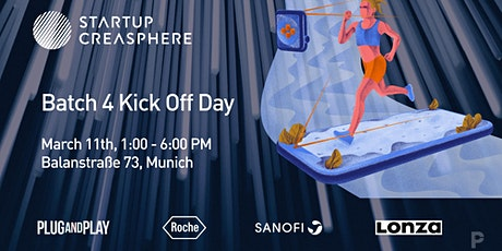 Startup Creasphere Batch 4 Kick Off Day Tickets