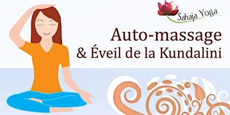 Auto-massage et éveil de la Kundalini billets