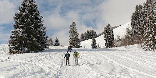 Balade en raquettes à neige autour des rochers du Haut Fourneau !