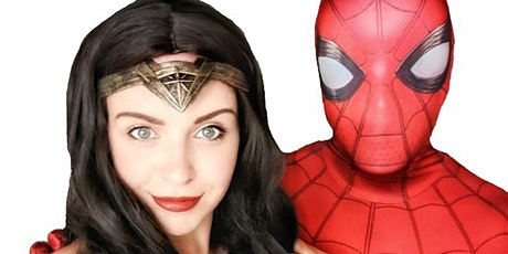 Superhero Training with Wonder Woman and Spiderman! tickets