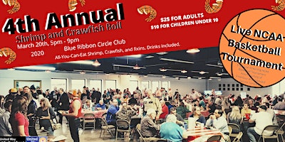 4th Annual Shrimp and Crawfish Boil benefiting United Way of Bedford County