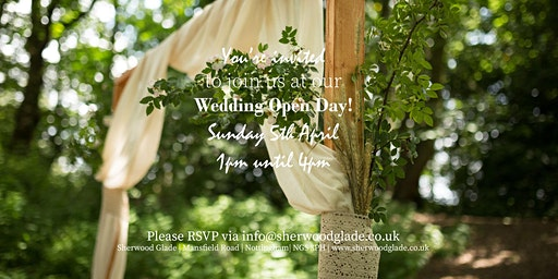 Sherwood Glade Wedding Venue Open Day