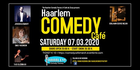 Haarlem Comedy Café March tickets