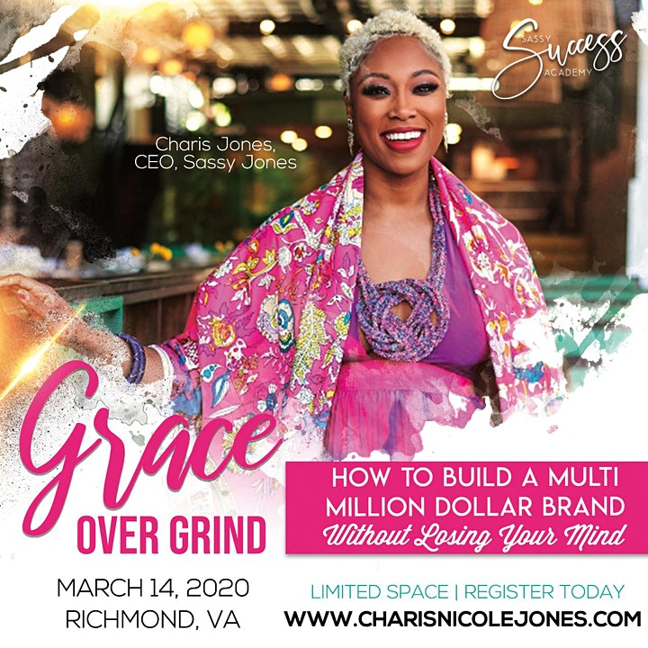 Grace Over Grind®️ 1.0 : How I Built A Multi-Million Dollar Brand In 1 Year image