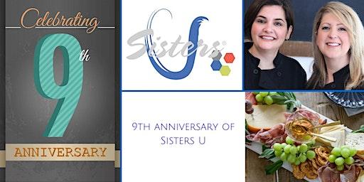 9th Anniversary Celebration: Sisters U February 2020 Meeting - En Bleue