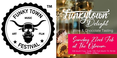 Funky Town Delight - Wine & Chcolate Tasting tickets