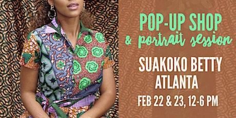 suakoko betty Pop-up Shop & Portrait Session tickets