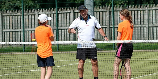 Easter Tennis Camp at Borders Tennis Centre