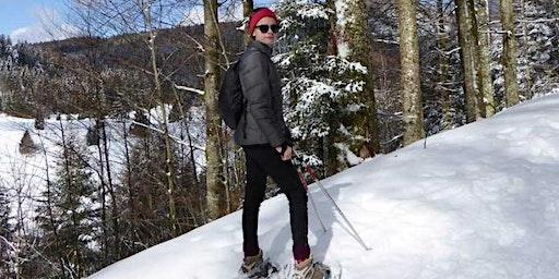 Balade en raquettes à neige sur la crête du Kastelberg !
