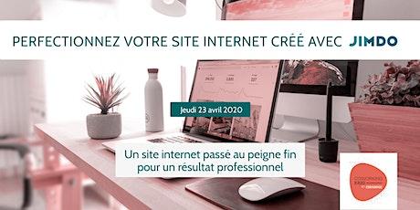 Perfectionnez votre site internet créé avec Jimdo billets