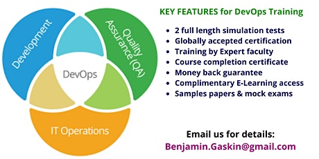 DevOps Certification Training Course in Santa Margarita, CA tickets