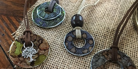 Alcohol Ink Washer Necklace Workshop tickets