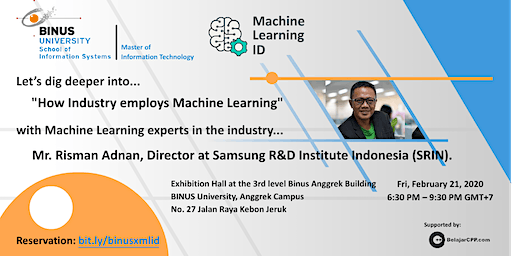 Binus University X Machine Learning ID Meetup