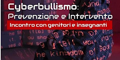 Cyberbullismo: prevenzione e intervento biglietti