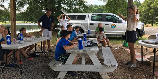 Fishing Clinic at Santee State Park
