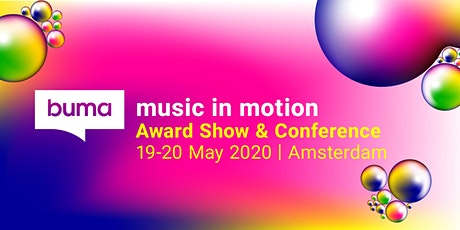 Buma Music in Motion 2020 tickets