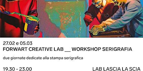 Workshop Serigrafia biglietti