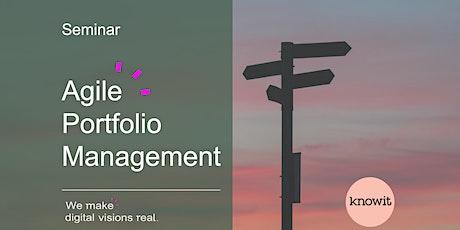 Agile Portfolio Management (seminar) tickets