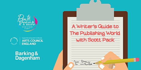 Pen to Print: A Writer's Guide to The Publishing World with Scott Pack tickets