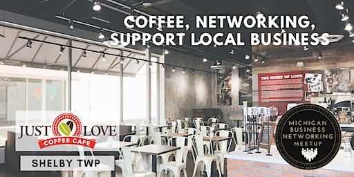 Shelby Coffee Networking at Just Love Coffee
