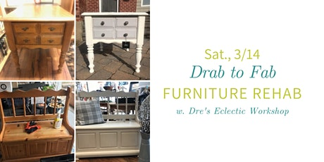 Drab to FAB Furniture Painting & Techniques Workshop @ Nest on Main tickets