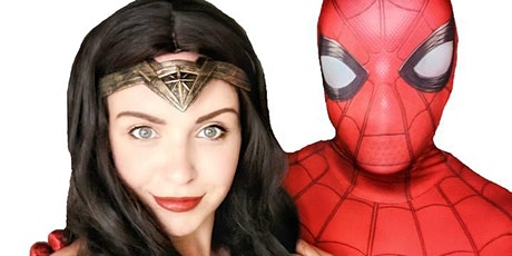 Superhero Lunch with Wonder Woman & Spiderman tickets