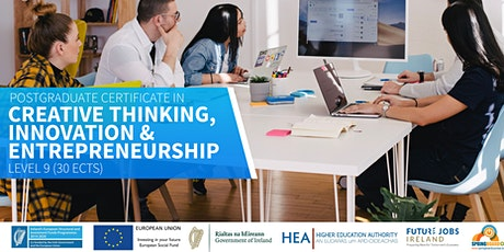 PG Cert in Creative Thinking, Innovation & Entrepreneurship tickets