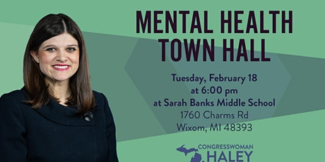Mental Health Town Hall with Rep. Haley Stevens tickets