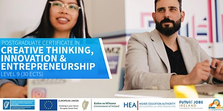 Springboard+ PG Cert in Creative Thinking, Innovation and Entrepreneurship tickets