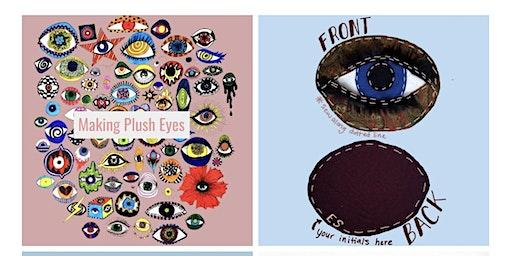 Plush  Eye Decorative Pillow