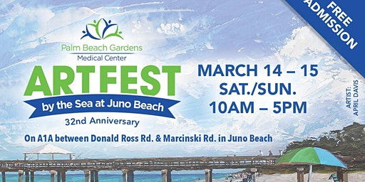 32nd Annual Palm Beach Gardens Medical Center ArtFest by the Sea at Juno Be