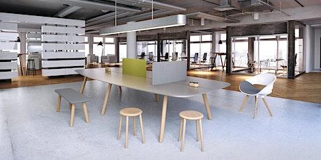 Zukünftige (Büro-) Arbeitswelten – digital, agil und nachhaltig Tickets